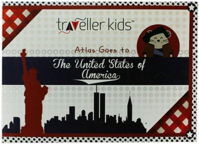 Traveller Kids Atlas Goes to USA