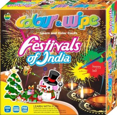 Lotus Applefun Color & Wipe Festival Of India