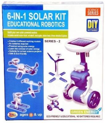 Ekta 6 in 1 Solar Kit Educational Robotics - 2