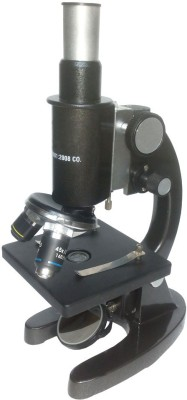 Jainco Student Microscope Metailc - Black