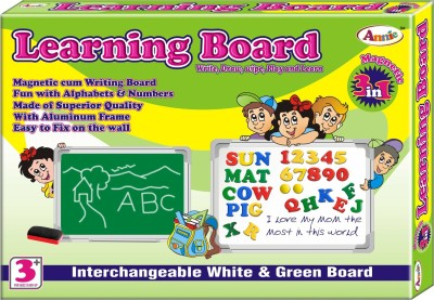 Annie 3 In 1 Learning Board