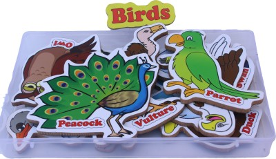 ENIGMATIC WOODWORKS MAGNETIC CUTOUTS - BIRDS