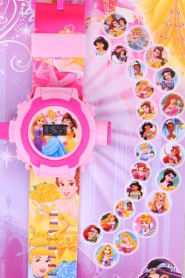 Chamunda Gifts Princess Projector Watch