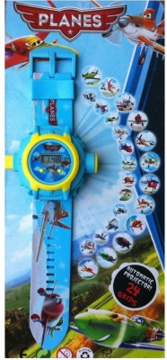 ToysBuggy Planes 24 Images Projector Watch