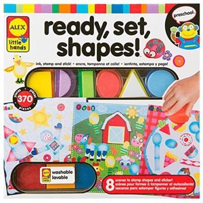Alex Toys Little Hands Ready, Set, Shapes