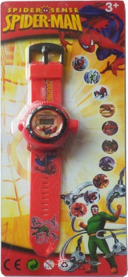 Jainsoneretail spider man Projector watch with 10 images