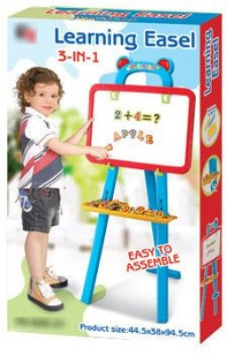 Phonenix Kids 3 in 1 Creative Drawing Magnetic Board Easel