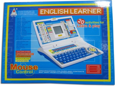 99DOTCOM English Learner Laptop For Kids 20 Activities