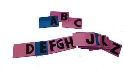 ABC Kids World Sand Paper Alphabets Capital