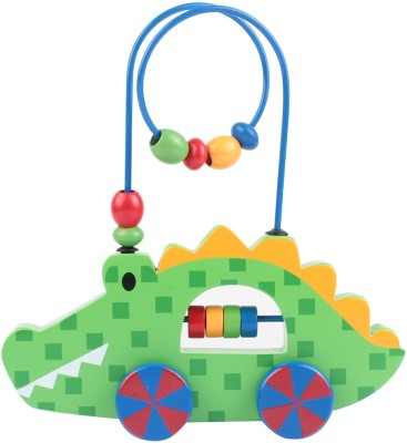 Stephen Joseph Inc Rolling Wire and Bead Toy - Alligator