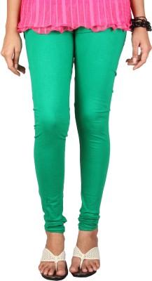 PurpleYou Women's Green Leggings