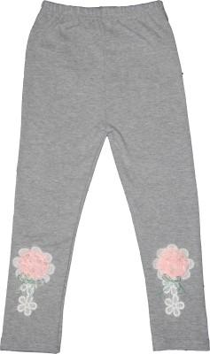 Habooz Girl's Grey Leggings