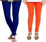 Zacharias Women's Blue, Orange Leggings ...