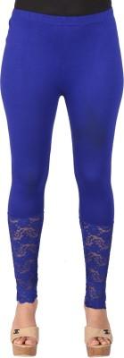 Ayesha Creations Women's Blue Leggings