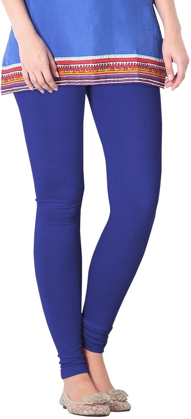 Nice Fit Womens Blue Leggings