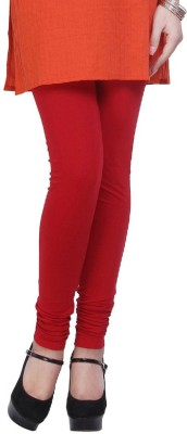 Sanrish Hub Women's Red Leggings