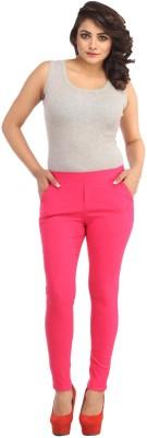 Guru Nanak Fashions Women's Pink Jeggings