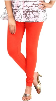 Sohniye Women's Orange Leggings