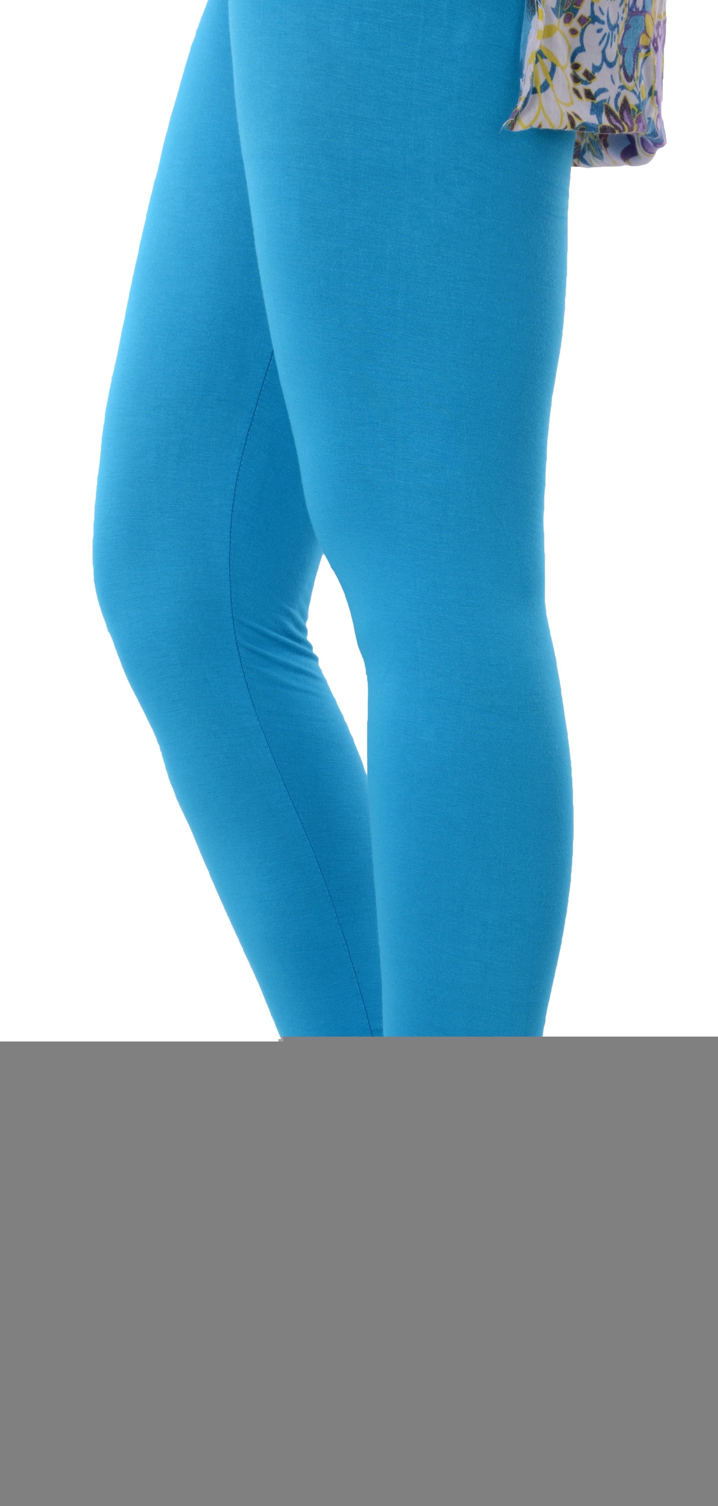 Grafion Womens Blue Leggings