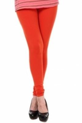 V Brown Women's Orange Leggings