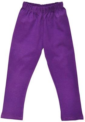Perky Girl's Purple Leggings