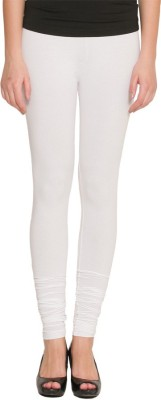 Girls2women Women's White Leggings