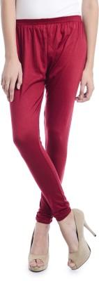 Samridhi Women's Maroon Leggings
