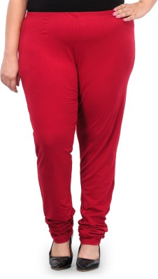 PlusS Women's Maroon Leggings