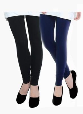 Uzee Women's Blue, Black Leggings
