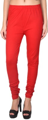 Pee Fashion Women's Red Leggings