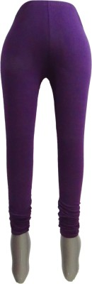 Revinfashions Women,s Purple Leggings