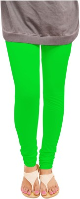 Leggings World Women,s Green Leggings