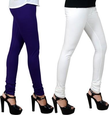 JSA Women's Blue, White Leggings