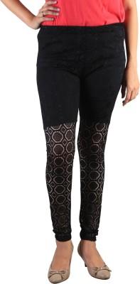 indian street fashion Women's Black Leggings