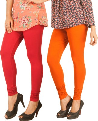 Berries Women's Red, Orange Leggings