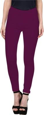 Triveni Women's Purple Leggings