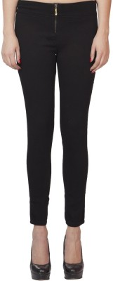 CHANNEL-F Women's Black Jeggings