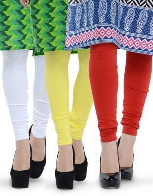 Shyama Collections Girl's Multicolor Leggings