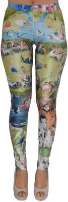 Zayn M, Women's Multicolor Leggings