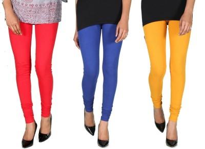 Ally Of Focker Women's Red, Blue, Yellow Leggings