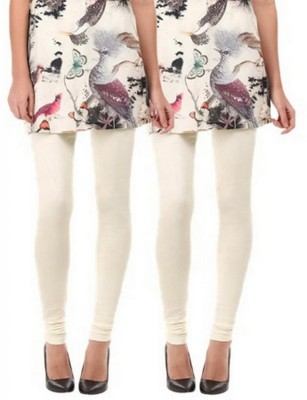 NE Women's White, White Leggings