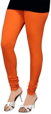 BikeNwear Women's Orange Leggings