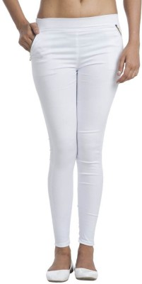 Jack Royal Women's White Jeggings
