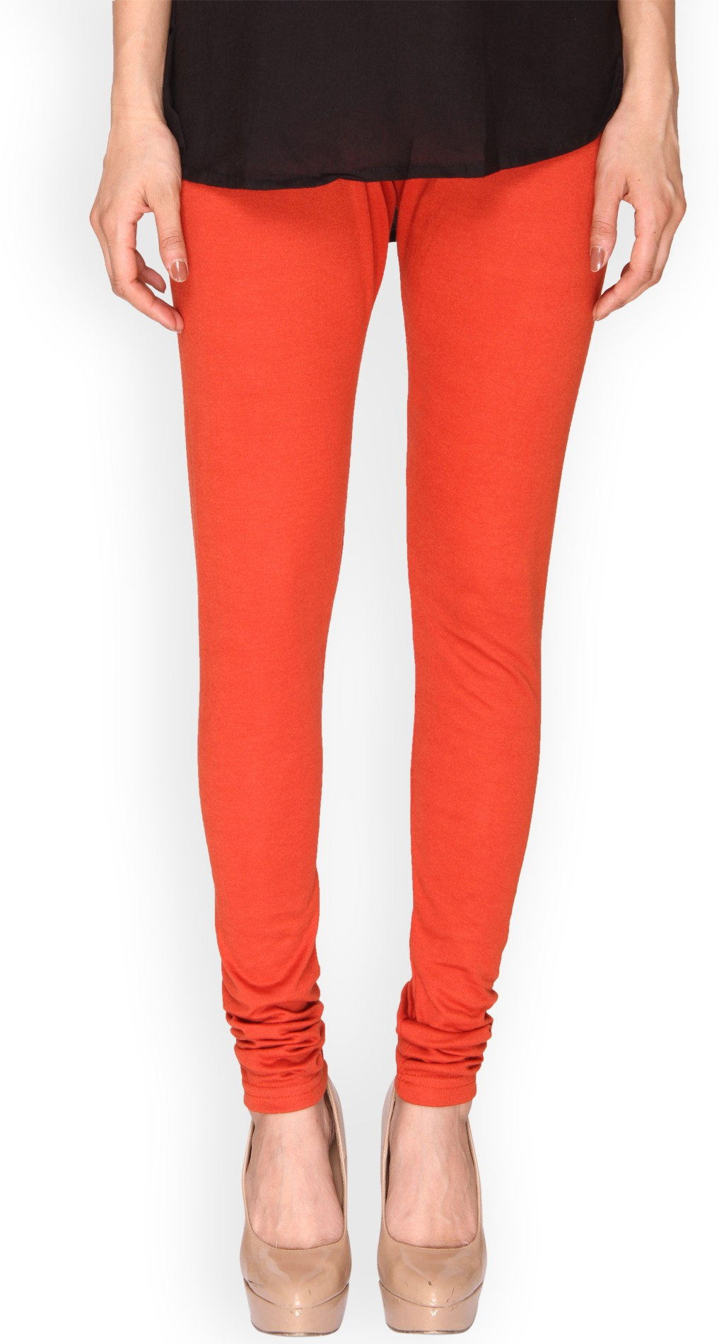 Ten on Ten Womens Orange Leggings