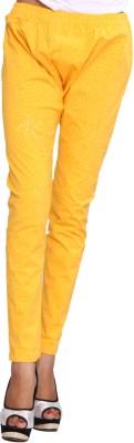 ChhipaPrints Women's Yellow Leggings