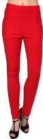 Silvercross Women's Red Jeggings best price on Flipkart @ Rs. 1145