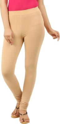 New Darling Women's Beige Leggings