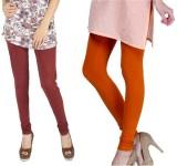 Rupa Softline Women's Orange, Maroon Leg...