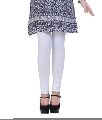 Addline Women's White Leggings