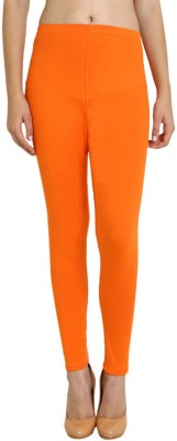 Red Rose Women's Orange Leggings